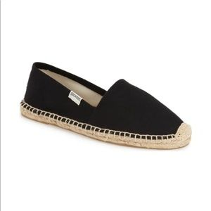 Sóludos Black Original Dali Espadrille Slip On